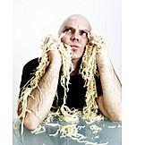Man, Spaghetti