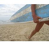 Surfer, Surfboard