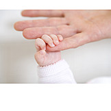 Baby, Mother, Holding, Hands