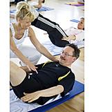 Gymnastics, Exercise, Pilates, Trainer
