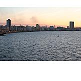 Sunset, Skyline, Havana