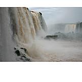 Waterfall, Brazil, Argentina, Iguazu