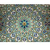 Pattern, Fountain, Mosaic