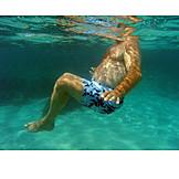 Humor & bizarre, Underwater, Fat, Overweight