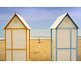 Beach, Nobody, Cabana