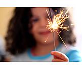 New years eve, Sparkler