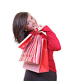 Young Woman, Indulgence & Consumption, Purchase & Shopping, Bag