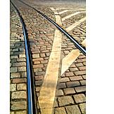 Track, Cobblestone