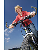 Teenager, Mountain bike, Cycling