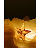 Decoration, Star, Christmas decorations