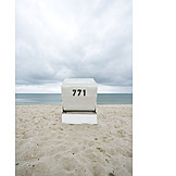 Sea, Beach chair
