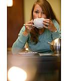 Drinking, Cafe, Latte