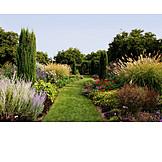 Garden, Formal garden, Flower bed