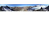 Austria, Kaunertal, Gepatschferner glacier