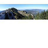Mountain range, Alpine foreland