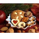 Christmas, Cookie, Cookie platter