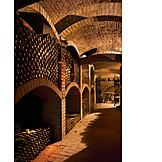 Wine cellar, Storage, Vaulted cellar
