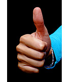 Hand, Optimism, Thumbs up