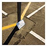 Reflection, Urban, Road markings