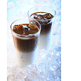 Iced coffee, Coffee specialty, Cold drink