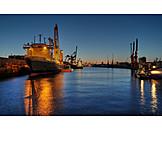 Ship, Hamburg, Container ship, Emperor wilhelm harbour