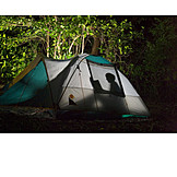 Tent, Outdoor, Camping