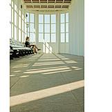 Waiting, Mecklenburg vorpommern, Pavilion, Architecture