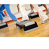 Step aerobics, Aerobics step