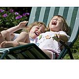 Girl, Laughing, Fun & happiness