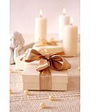 Christmas, Gift, Bow, Christmas present