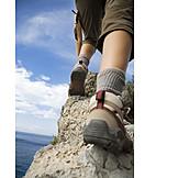 Mountaineering, Hiking, Climbing