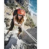 Climbing, Rock climbing, Climber