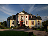 Castle, Dornburg castles, Dornburg, Rococo castle