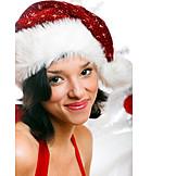 Woman, Christmas