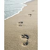 Beach, Footprint