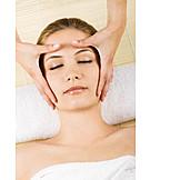 Beauty & cosmetics, Massage, Facial massage