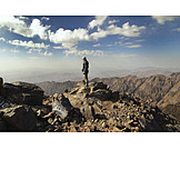 Mountaineering, Summit, Mountaineer, Atlas mountains