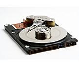 Harddisk, Hard drive