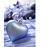 Heart, Christmas ball, Christmas decoration