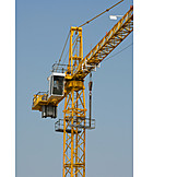 Crane, Crane, Driver seat