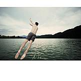 Jump, Bathing, Bathing, Jump