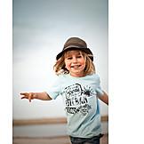 Boy, Happy, Fun & happiness, Run