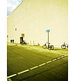 Urban life, Street, One way