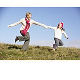 Togetherness, Running, Generations, Walk