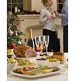 Christmas, Christmas eve, Christmas dinner