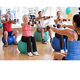 Sports & fitness, Workout, Dumbbell training