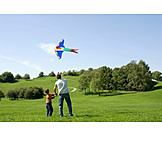 Father, Son, Kiteflying