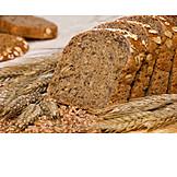 Bread, Slice of bread, Wholemeal bread