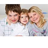 Boy, Girl, Togetherness, Siblings