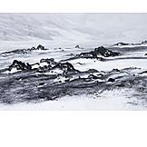 Snowy, Iceland, Sparse, Dyngjufjoll